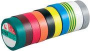Lot de 10 Adhesif isolant assortis Advance AT7 15mm X 10m  type barnier
