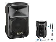 Système de sonorisation portable power acoustics BE9412 UHF ABS