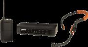 Micro sans fil Shure BLX14E-SM31-M17 base BLX + récepteur + Serre-tête SM31 fitness Bande M17