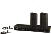 Micro Shure SSE BLX188E-CVL-M171 Complet double Cravate CVL-B/C Bande M17