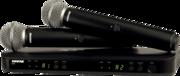 Micro HF double Shure SM58 BLX288E-SM58-M17