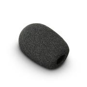 Bonnette noire pour micro de diamètre 7 à 12mm