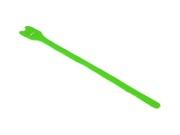 attache cable velcro vert gros modèle 30cm X 2.5cm à scratch