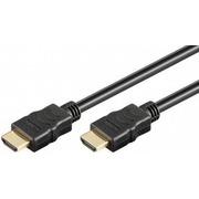Câble HDMI mâle mâle 1m contact doré compatible 4K