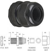 Presse étoupe MG25 pour passage câble de 13 à 18mm