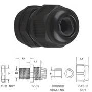 Presse étoupe pour passage câble de 4.6 à 7.6mm