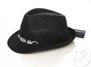 Chapeau noir festif ibiza