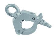Crochet clamp 400 kg pour tube 50mm eurolite TPC-31 avec anneau de levage
