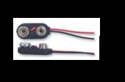 Connecteur 6LR61 pour Pile 9V rectangulaire - coupleur de pile 9v