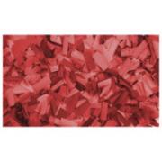 Confettis rectangulaires 55X17 rouge Sac de 1Kg