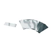 Confettis rectangles argentés sac de 1Kg
