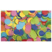 Confettis ronds multicolores ronds 55mm sac de 1Kg