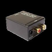 Convertisseur analogique numérique audio Power studio coaxial ou Toslink