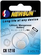 Pile lithium CR1216 3V diamètre 12mm épaisseur 1.6mm