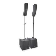 LD Systems CURV 500 PS - Système line array portable « Power Set » avec barres d'espacement et câble