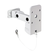 LD Systems CURV 500 WMB W - Support de montage mural/plafond pour satellites CURV 500, blanc