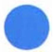 Filtre dichroïque Bleu 50mm