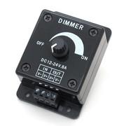 Driver controleur dimmer de LED 8A 12 V - 24V à potentiomètre