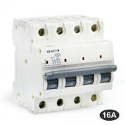 Disjoncteur tétrapolaire 16A 4.5KA Ohmtec courbe C
