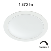 Downlight Led Beneito et faure AIR 22W Dimmable 4000K