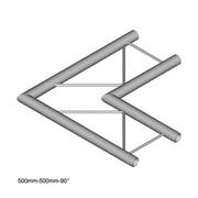 structure alu duratruss échelle angle plat 90° DT22-C21H-J90