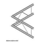 Structure alu angle droit duratruss échelle DT 22-C21V-L90