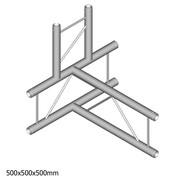 Structure alu angle à 4 départs duratruss échelle DT22-T42V-TD