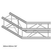 Angle à 135° structure carrée Duratruss DT 24-C23-L135 avec kit de jonction