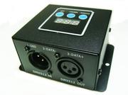 COntroleur Driver de LED RVB + blanc DMX 4 X 4A 12/24V avec micro pour mode son