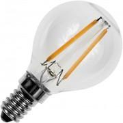 Lampe E14 Sylvania Led filament sphérique 250 lumens Blanc chaud