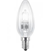 Ampoule E14 230V 28W flamme claire éco halogène équivalent 40W Philips code 25265106