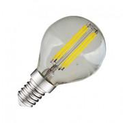 Ampoule Led à filament E14 4W blanc chaud 2700K
