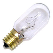 Lampe E17 240V 25W tube clair