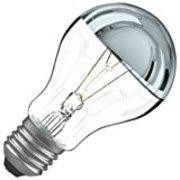 Lampe E27 calotte argentée 230V 60W code 0017740