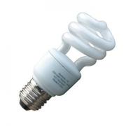 Ampoule Eco E27 11W spirale Blanc chaud code 008821