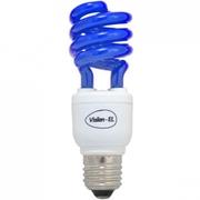 Ampoule Eco E27 15W bleue