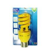Ampoule Eco E27 11W jaune