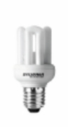 Ampoule Eco E27 9W Blanc chaud Sylvania Fast start V2