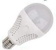 Ampoule LED E27 12V 7W globe blanc chaud