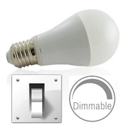 Ampoule E27 9W Led dimmable par simple switch