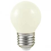 Lampe E27 à led Blanc 1W 230V blanc chaud