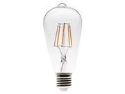 Ampoule déco E27 Filament Led Velleman 4w type retro  ST64
