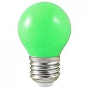 Lampe E27 à led Verte 0,5 W 230V