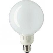 Ampoule Eco E27 Philips PL-E  Globe 16W 827 Blanc chaud opale