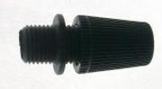 Isolateur serre câble noir pour douille plastique E27 à filetage M10