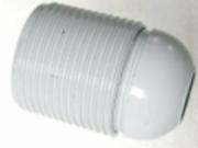 Douille thermoplastique E27 FILETE T210 BLANCHE