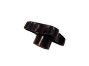 Écrou molette M10 plastique noir pour projecteurs