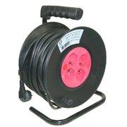 Enrouleur electrique 3X1.5mm2 25m noir