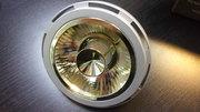 Lampe led Hi-spot ES111 GU10 230V 16W Blanc chaud 2700K avec réflecteur doré