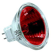 LAMPE EXT 12° 12V 50W ROUGE
